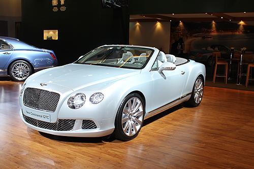The Bentley Continental GTC.