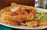Champps' fish and chips