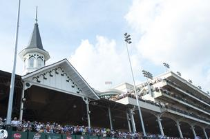 "Churchill Downs Inc. chairman and CEO Bob Evans has described ""The Mansion,"" a high-end seating venue, as ""the pinnacle of live sporting experiences."""