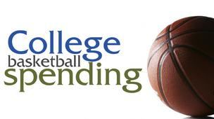Top 10 NCAA baskeball spenders