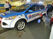 This 2013 Escape model was decorated to lead the race cars at Kentucky Speedway.