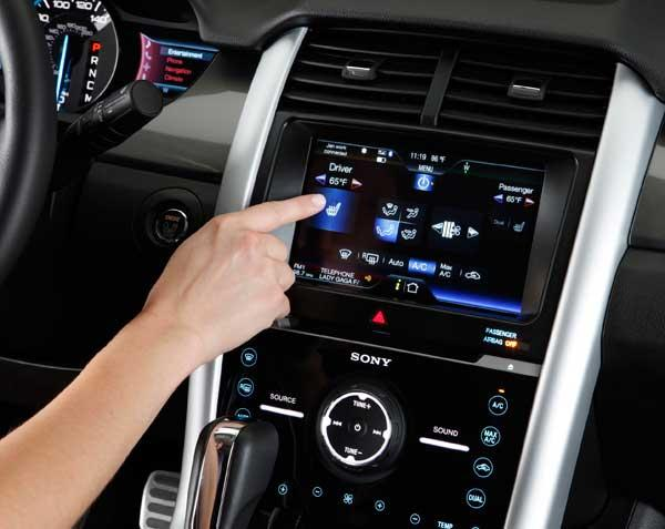 Ford's Sync system includes a number of technology features, such as a Vehicle Health Report that gathers system data.