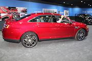The new Ford Taurus SHO was part of the Ford exhibit at the Los Angeles Auto Show.