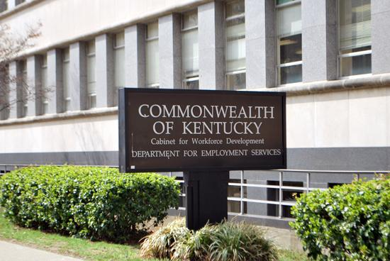 Kentucky's seasonally adjusted preliminary unemployment rate rose to 8.3 percent in July.