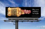This holiday billboard showed Maker's Mark in a new light.