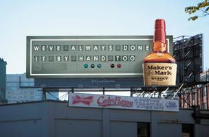 Maker's Mark billboard slide show
