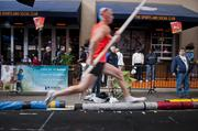 Hundreds attended Vault in the Ville at Fourth Street Live Friday night to watch elite pole vaulters from across the nation.