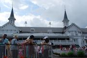 No. 3 Slide show: Kentucky Oaks is Louisville's day at the downs This slide show highlights images from the event, which brought more than 112,000 fans to Churchill Downs.