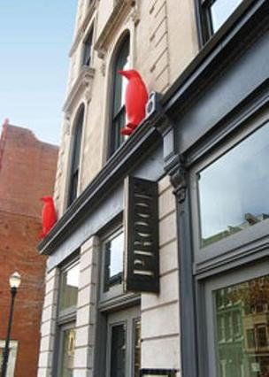 The first 21c Museum Hotel opened in downtown Louisville in 2007.