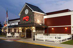 Darden Restaurants, owner of Red Lobster, reported slacking sales Tuesday, news that was followed by falling stock prices for Darden and its competitors.
