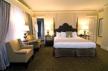 This is one of the rooms at The Seelbach Hilton in Louisville.