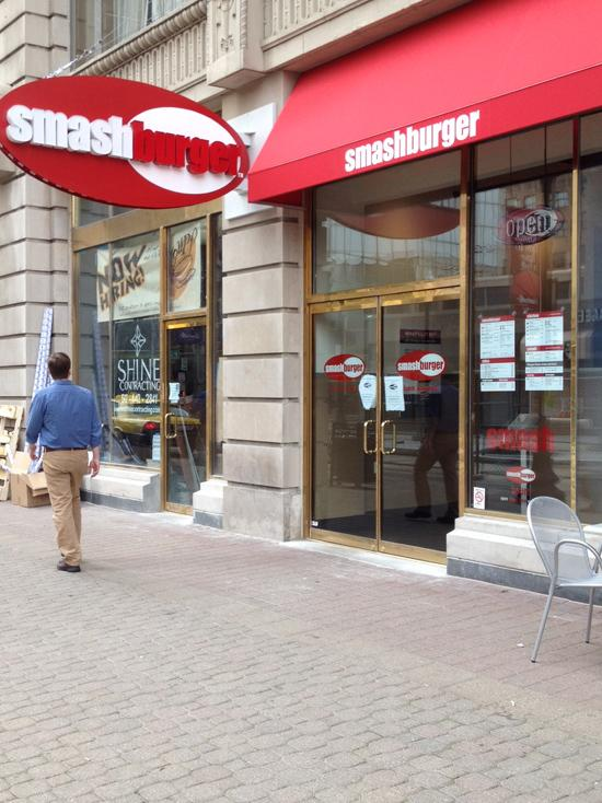 Smashburger Address: 312 S. Fourth St. Opening: March 21 For more, click here.
