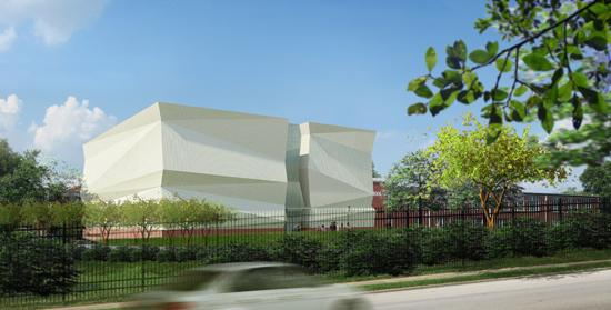 The 11,800-square-foot Darrell Griffith Athletic Center at West End School will feature a regulation basketball court, volleyball court, 500-seat bleacher area, fitness facility and locker rooms.