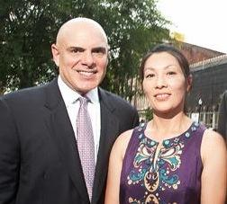 Joe Magliocco, left, is president of Michter's Distillery LLC. Connie Kam is vice president.