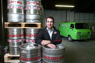 David Easterling is close to realizing his plan of bringing Falls City Beer back to Louisville.