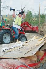 <strong>O'Shea</strong>'s employees volunteer time for tornado relief in Alabama