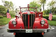 Cronan bought the 1956 Maxim pumper in 1998 for $1,500.