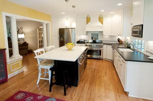 This kitchen is in a home that was featured in the 2011 Tour of Remodeled Homes. To see more, click here.