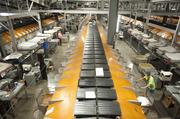 Nexgen Mold and Tool provided parts for the sorting conveyors at UPS World Port.