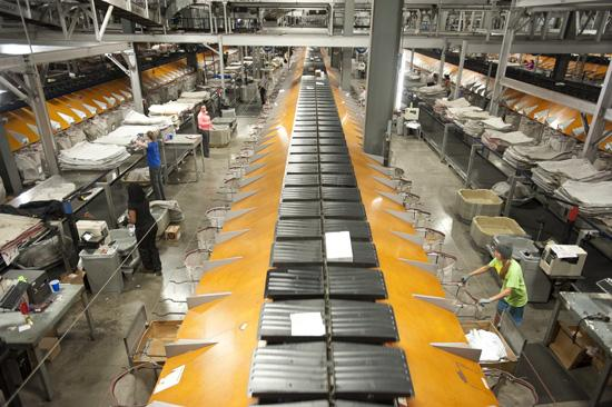 UPS Operates Its Largest Package Handling Hub, Worldport, At Louisville  International Airport.