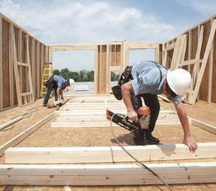 The construction backlog indicator rose 4.3 percent in the second quarter.