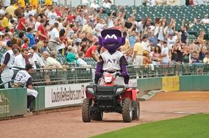 Louisville Bats mascot Buddy Bat will make a few Valentine's Day wishes come true.