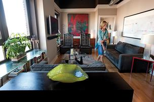 Visitors toured condominiums at the Lofts at Artspace, shown here, during Louisville Downtown Management District's Downtown Living Tour.