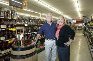 Jerry and Debbie Rogers, shown in their Party Mart in Brownsboro Center, have started work on a new location in the Gardiner Lane Shopping Center.
