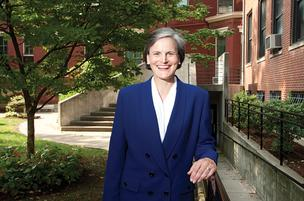 Tori Murden McClure served on the Spalding University board of trustees and in several vice president posts before becoming president last year.