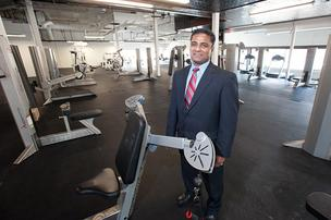 Amar Khadey, owner of the new Taurus Wellness Center, recently opened his business in the former TGI Friday's restaurant building, located in Plainview.