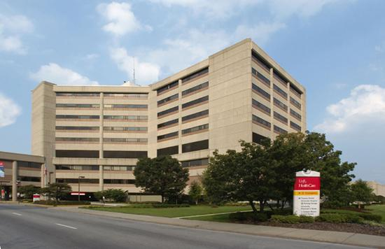 University of Louisville Hospital is a 404-bed facility located in downtown Louisville.