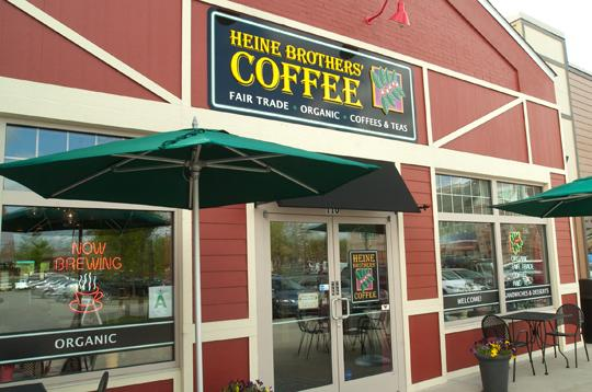 Heine Brothers' has 10 locations in Louisville, including this store at Westport Village.