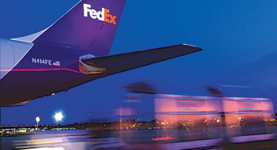 Shares of FedEx Corp. soared on Tuesday.