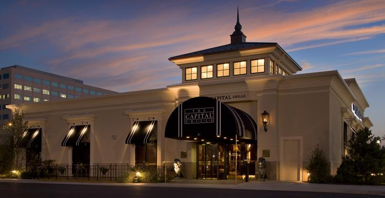 The Capital Grille has plans to open a restaurant on the property of the Crescent Center office building, located at the corner of Poplar Avenue and Ridgeway Road in East Memphis. Pictured above is the brand's restaurant in Lombard, Ill.