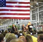 Clinton sees GreenTech as boost to economy