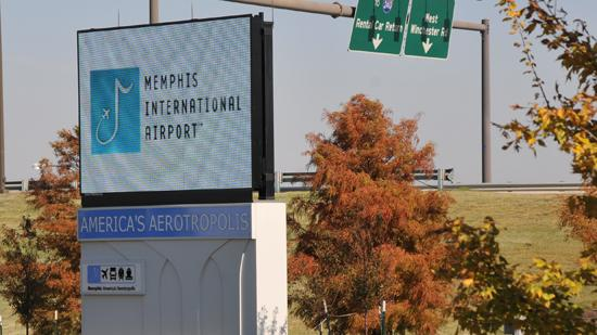 How does the Memphis Airport get funding?