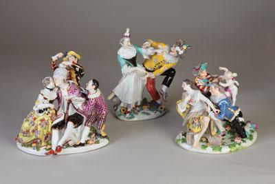 The Dixon Gallery and Gardens houses an exhibit of 18th century German porcelain.
