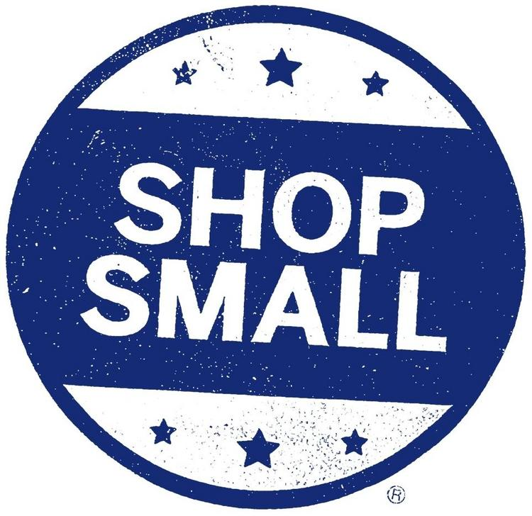 "The ""shop small"" campaign encourages consumers to buy locally for the holidays."