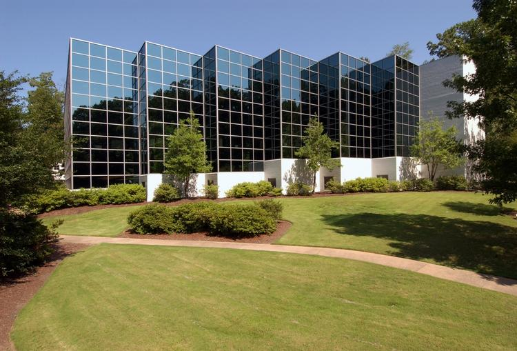 This office campus at 1023 Cherry Road recently sold for $4.1 million.