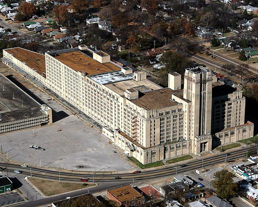 The redevelopment of Sears Crosstown is expected to begin in the first quarter of 2014 now that funding has been approved.