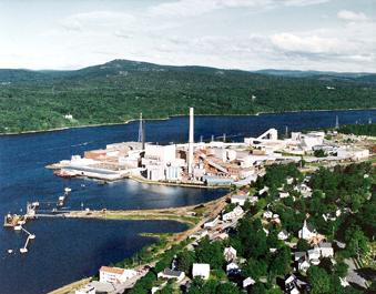 Verso Paper's mill in Bucksport, Maine, which will produce its new VersoRx product.