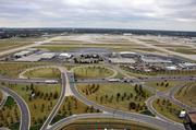 Another view, looking toward Winchester Road, from the catwalk of the new air traffic control at Memphis International
