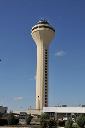Federal Aviation Administration's new air traffic control tower at Memphis International Airport
