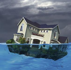 Homes in Jacksonville with negative equity, or underwater, were down slightly in the third quarter.