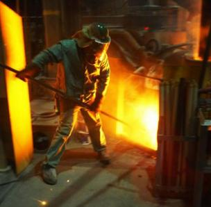 Nucor says its top markets remain tied to manufactured goods in sectors such as the heavy-equipment, energy and automotive industries.