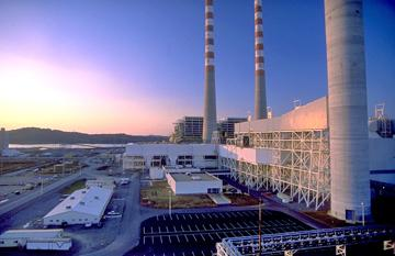 A TVA plant in Cumberland in Tennessee.