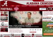 No. 2 University of Alabama 2010 revenue: $76.8 million Conference: SEC