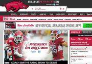 No. 10 University of Arkansas 2010 revenue: $61.1 million Conference: SEC
