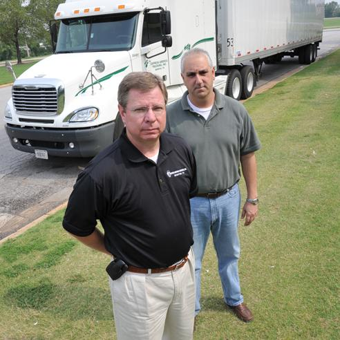 Barry Bernard and Tommy Hall of Express America
