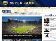 No. 8 University of Notre Dame 2010 revenue: $68.8 million Conference: Independent